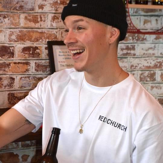 Redchurch Brewery Redchurch Limited Edition Core Range T-Shirt - Medium  40-42