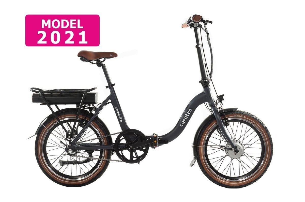 Geobike Smart Folding low step electric bike Carat 2.0 black 468Wh