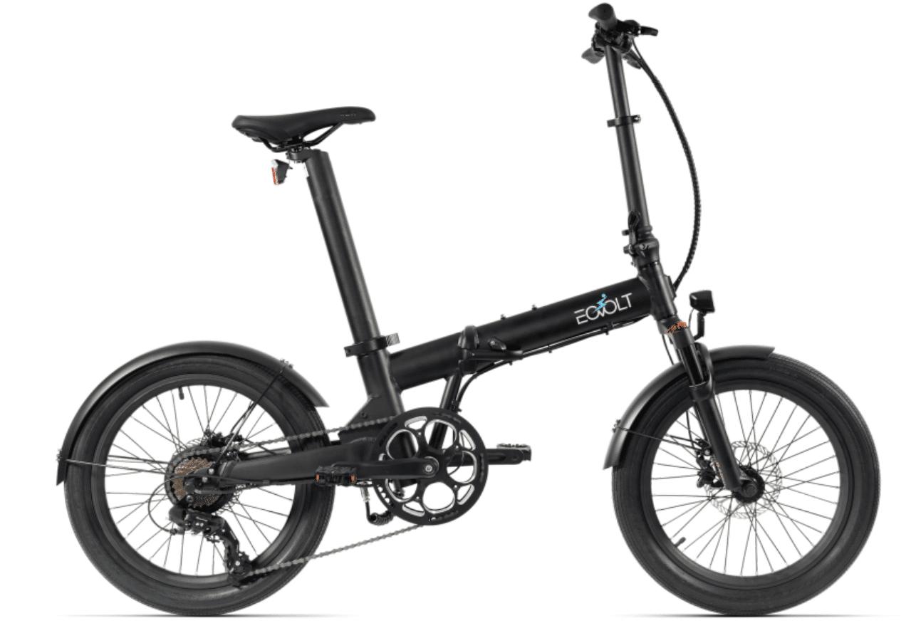 EOVOLT Electric Folding Bike 20 inch EOVOLT Comfort X Black
