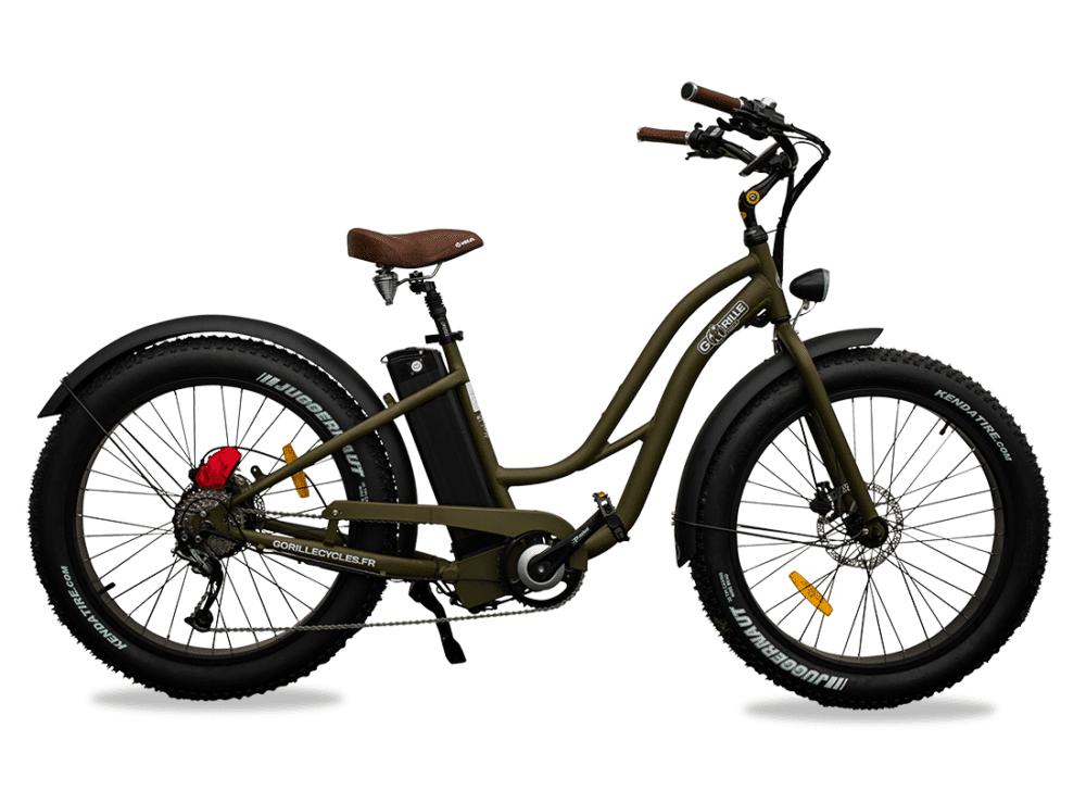 Gorille Ladies electric bike Gorille 45km/hr 980Wh Green