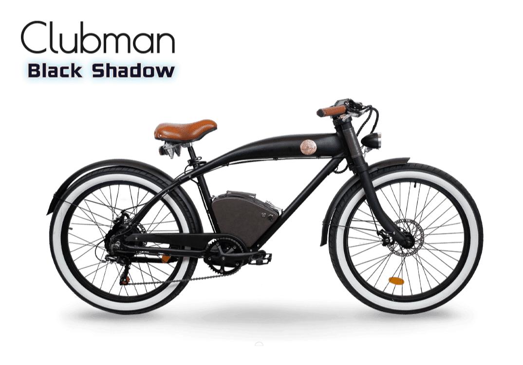 Rayvolt E Bike Cruiser Clubman Black 360Wh
