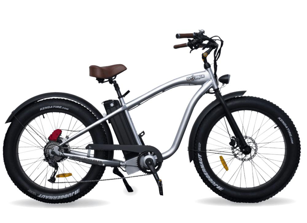 Gorille Electric Fat Bike Beach Cruiser Gorille 410Wh Aluminium