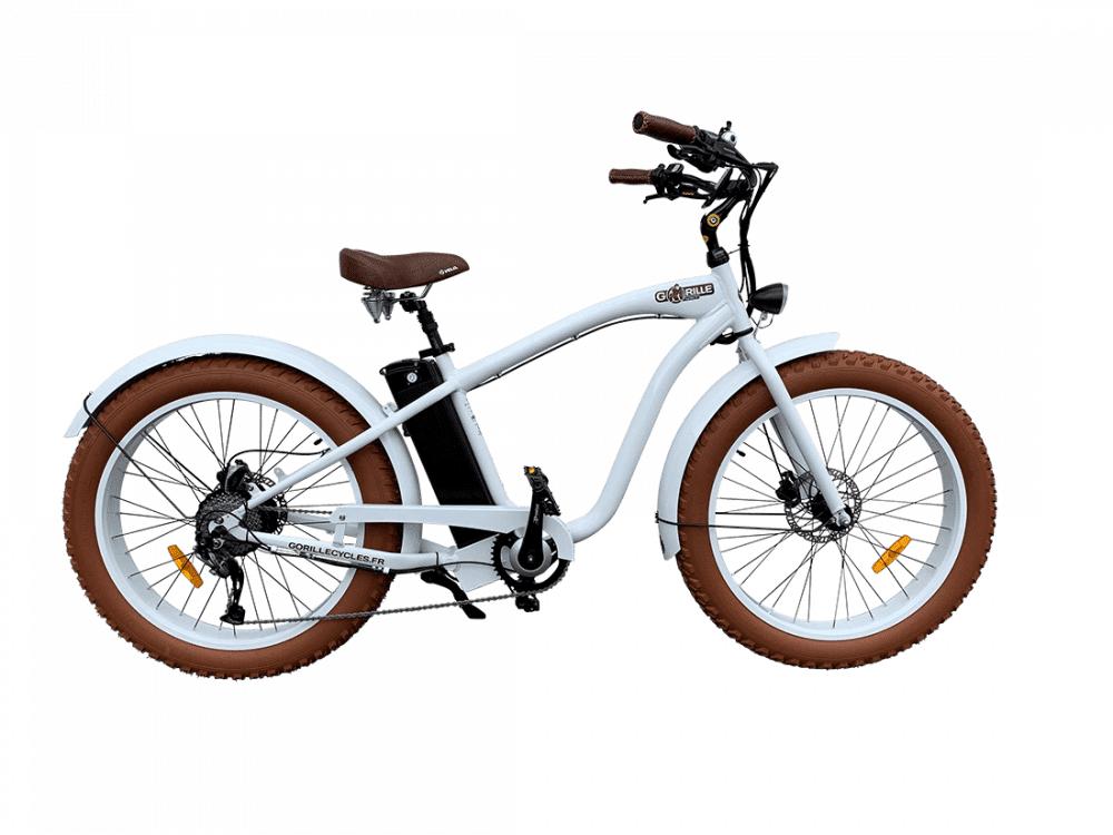 Gorille Electric Fat Bike Beach Cruiser Gorille 730Wh Aluminium