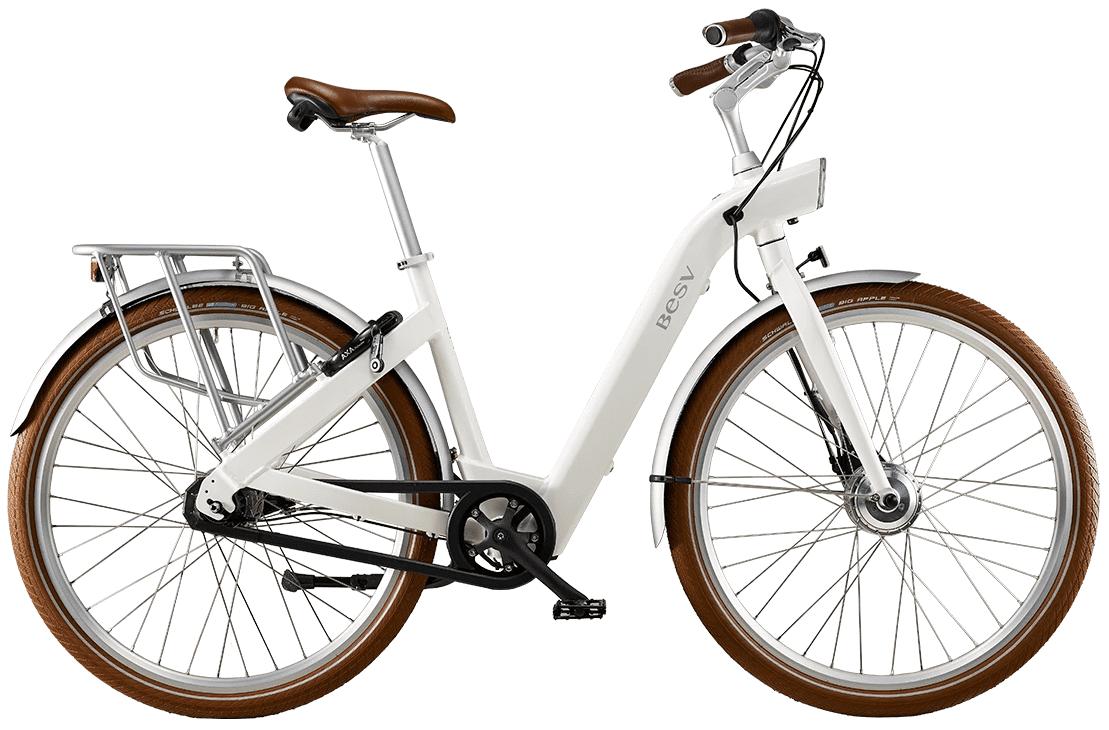 BESV Ladies Electric Bike CF1 FM M White