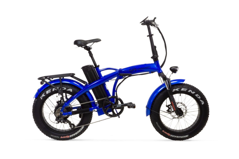 Varaneo Electric Folding Bike Fat tyre Varaneo Dinky Sport Blue