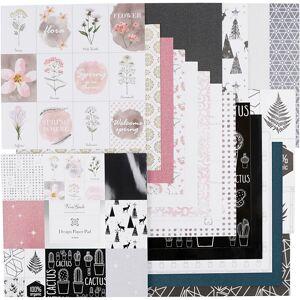 ViviGade Design Paper Pad, 30,5x30,5 cm, 120+128 g, 36 sheet/ 1 pc