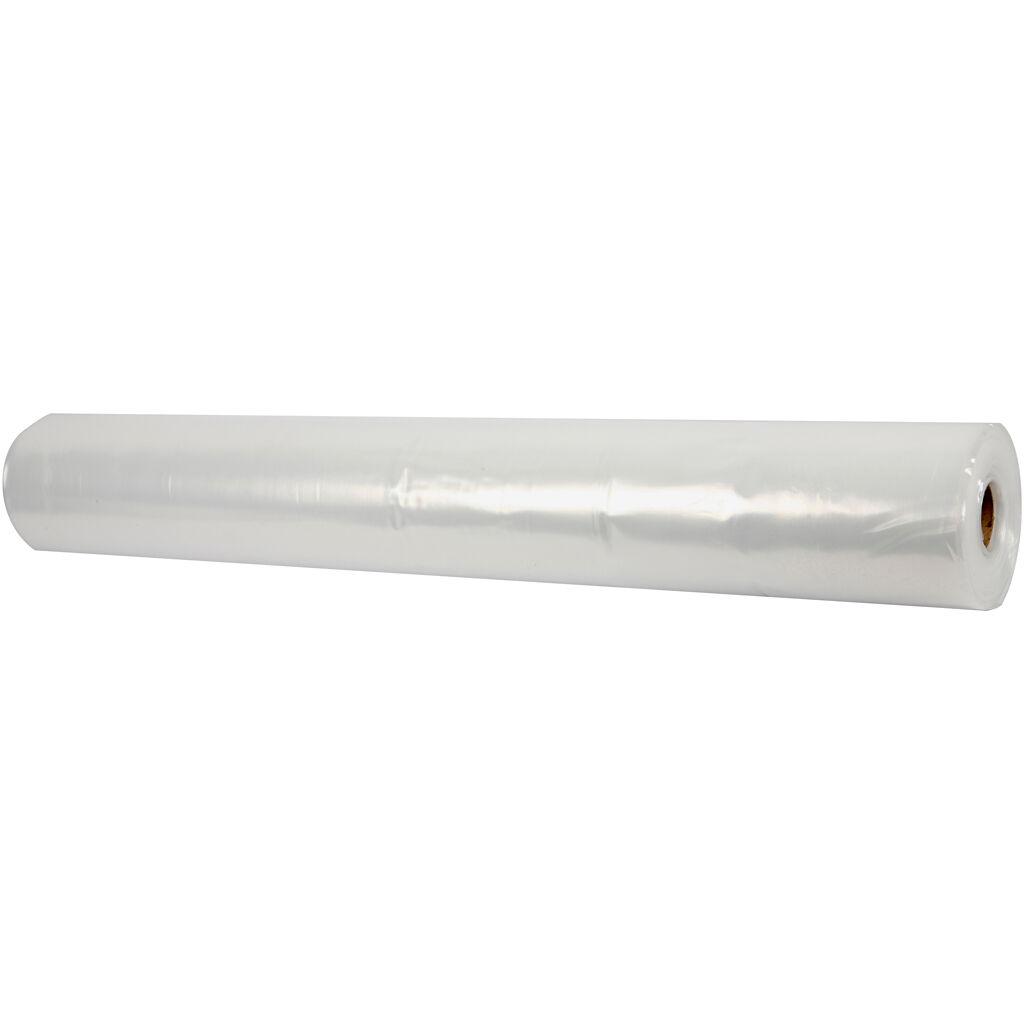 Creativ Company Plastic Sheeting, W: 2 m, 50 m/ 1 roll