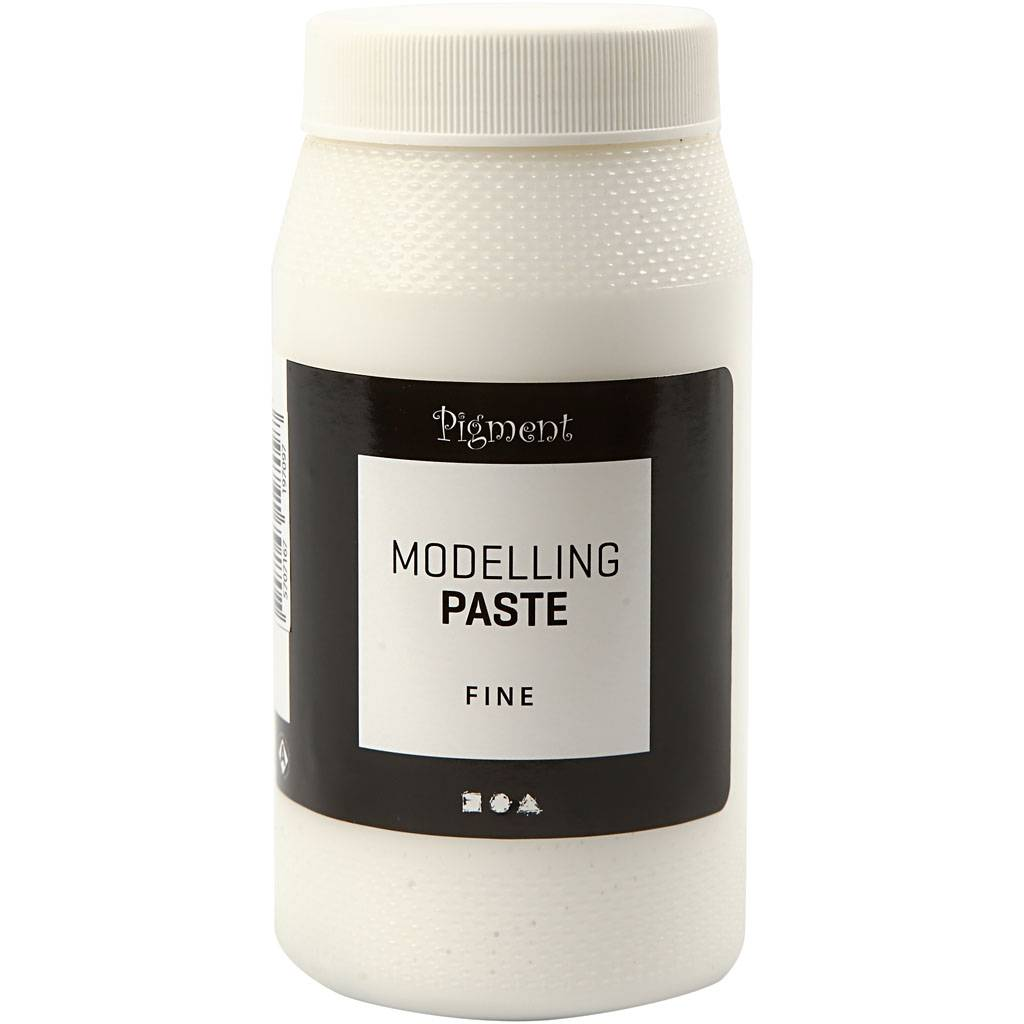 PigmentArtProff Pigment modelling paste, fine, 500 ml/ 1 tub