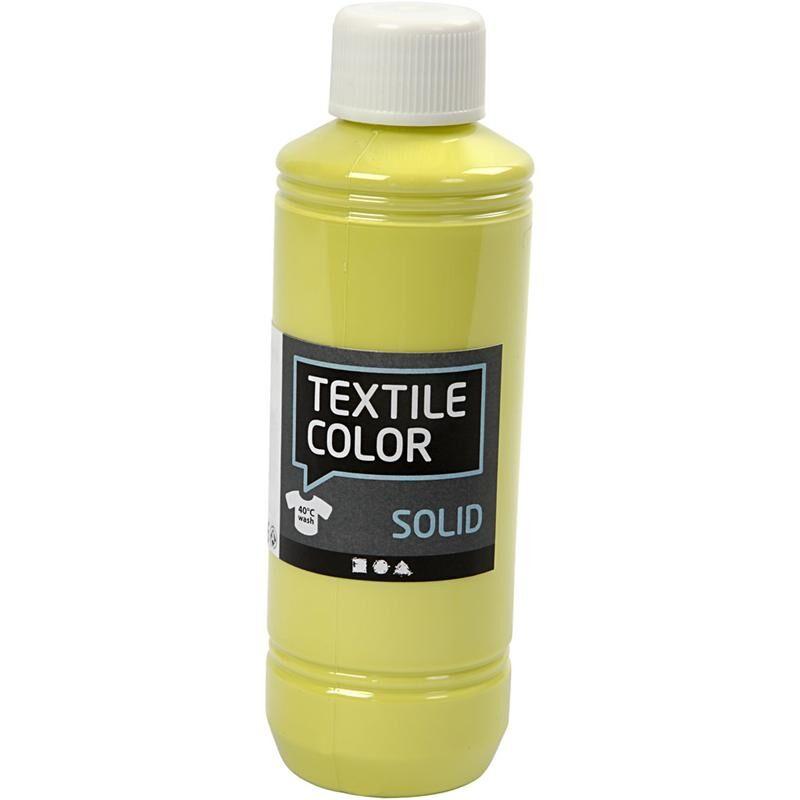 Creativ Company Textile Solid, opaque, kiwi, 250 ml/ 1 bottle