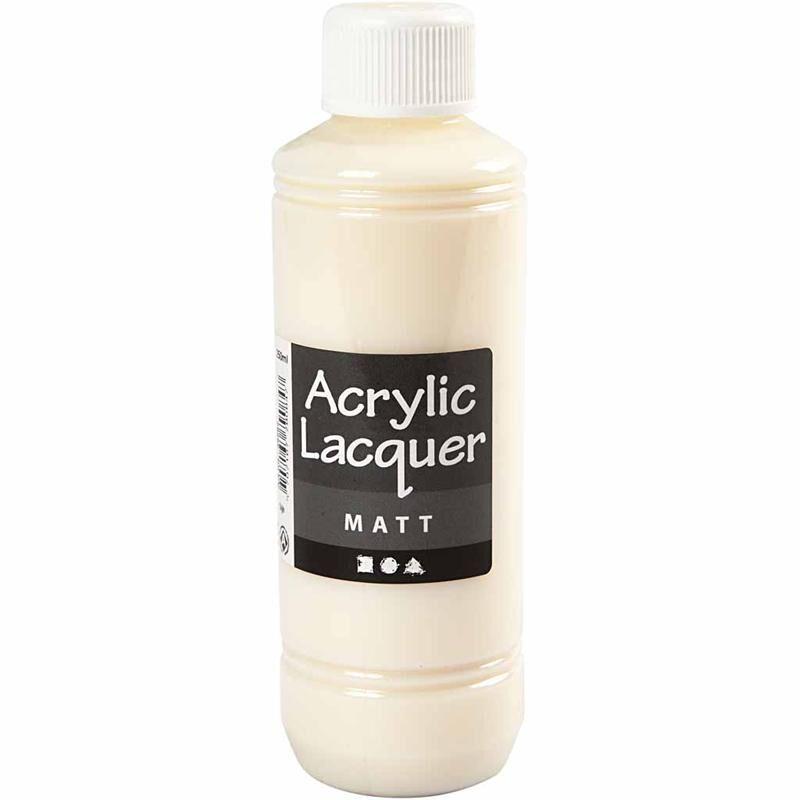 Creativ Company Acrylic Varnish, matt, 250 ml/ 1 bottle