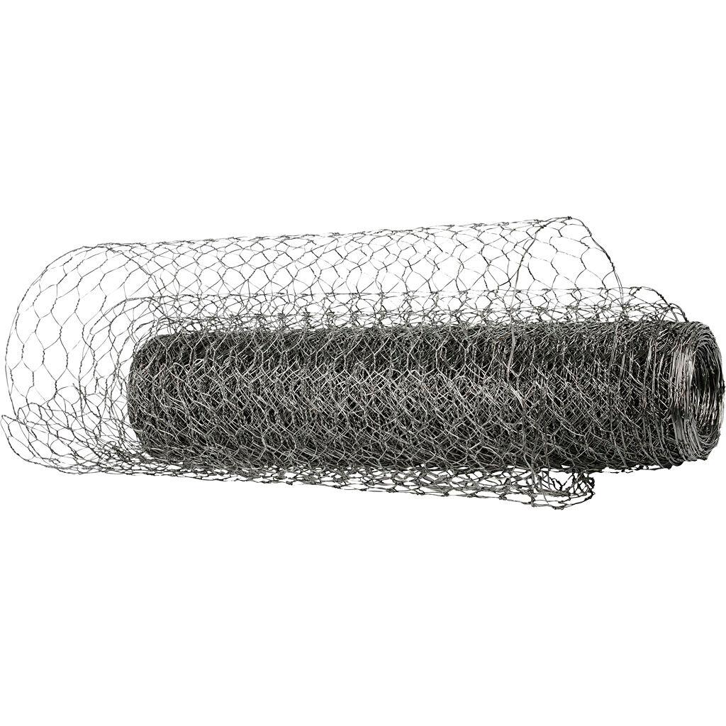 Creativ Company Wire Netting, W: 40 cm, 20 m/ 1 roll