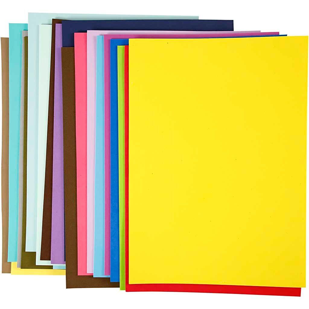 Creativ Company EVA Foam Sheets, A3, 297x420 mm, 20 ass sheets/ 1 pack