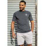 Threadbare Steele Sports Shorts Grey