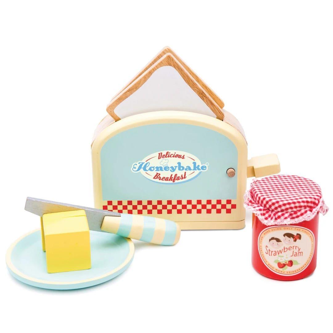 Le Toy Van Toaster Set Multicolor