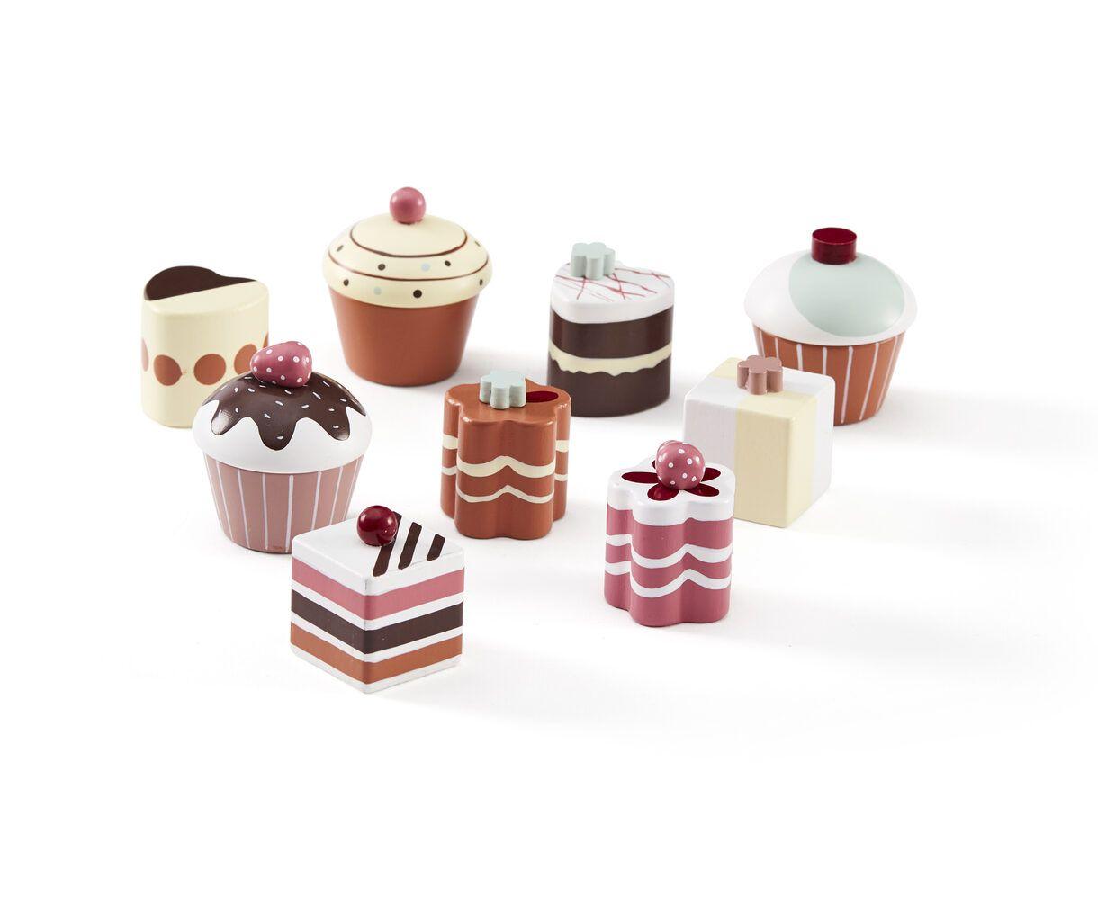 Kids Concept Pastries 9Pcs Bistro Multicolor