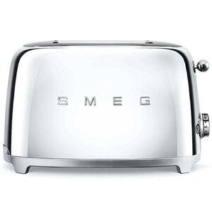 Smeg TSF01 Retro 2 Slice Toaster - Stainless Steel
