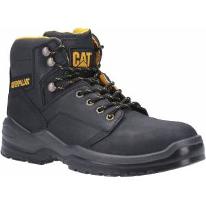 Caterpillar Men's Striver Lace Up Injected Safety Boot Various Colours 30702 - Black 10