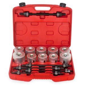tectake Bearing puller / press 27 PC tool set - grey