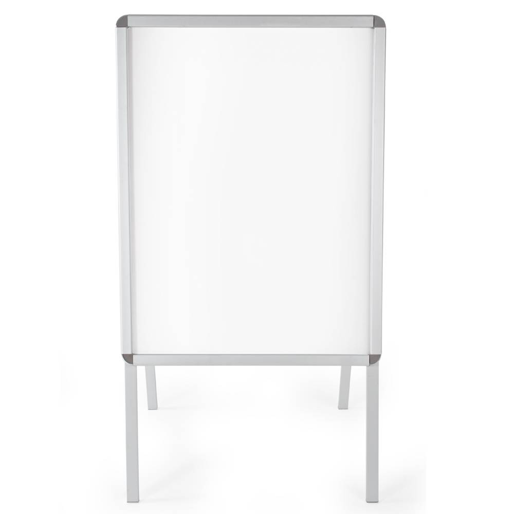 tectake A Board - double-sided 120 cm +2 films - grey