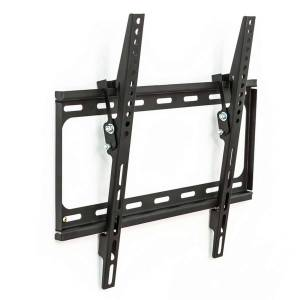tectake TV wall mount for 32-55″ can be tilted - black