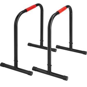 tectake Push up bars - black