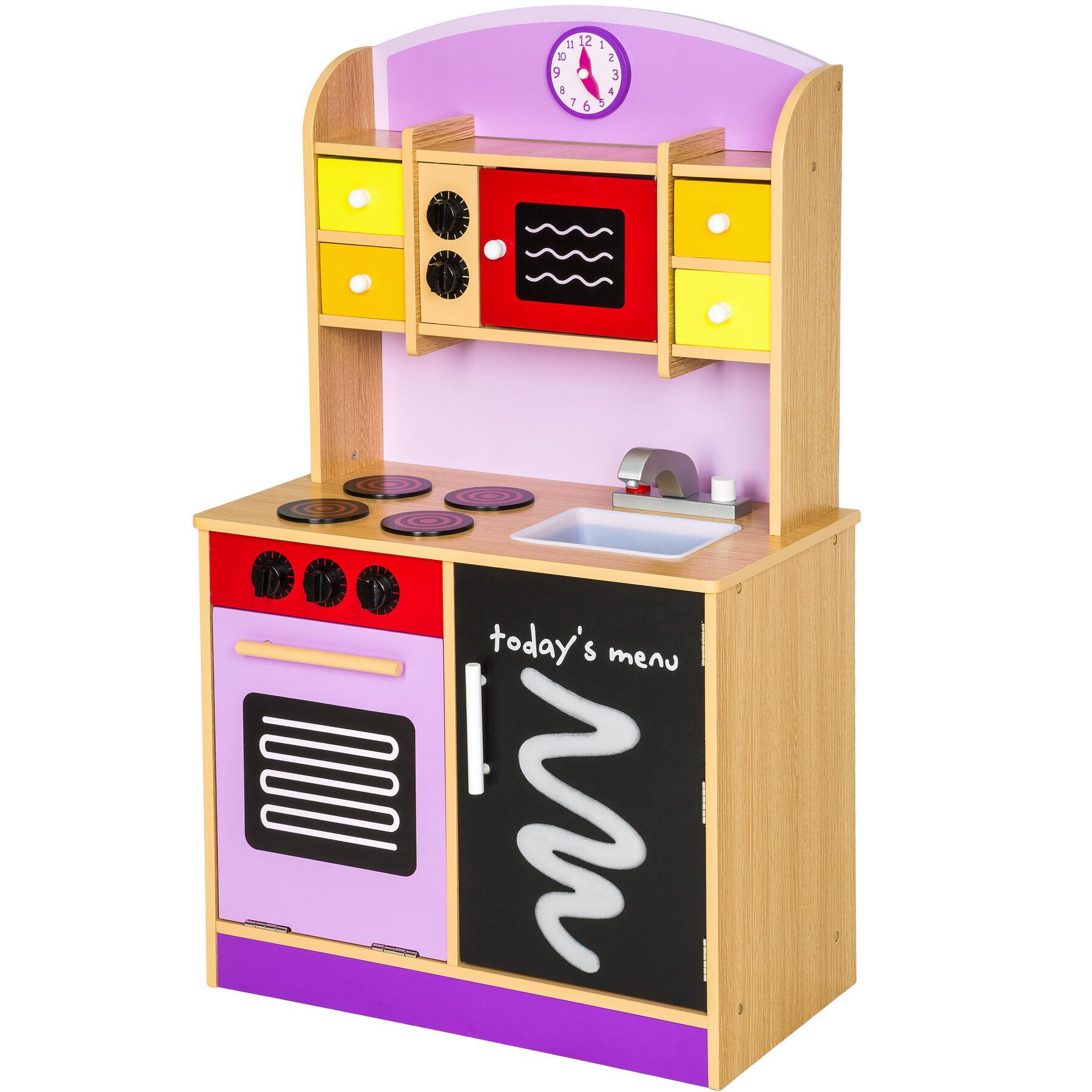tectake Toy kitchen - purple