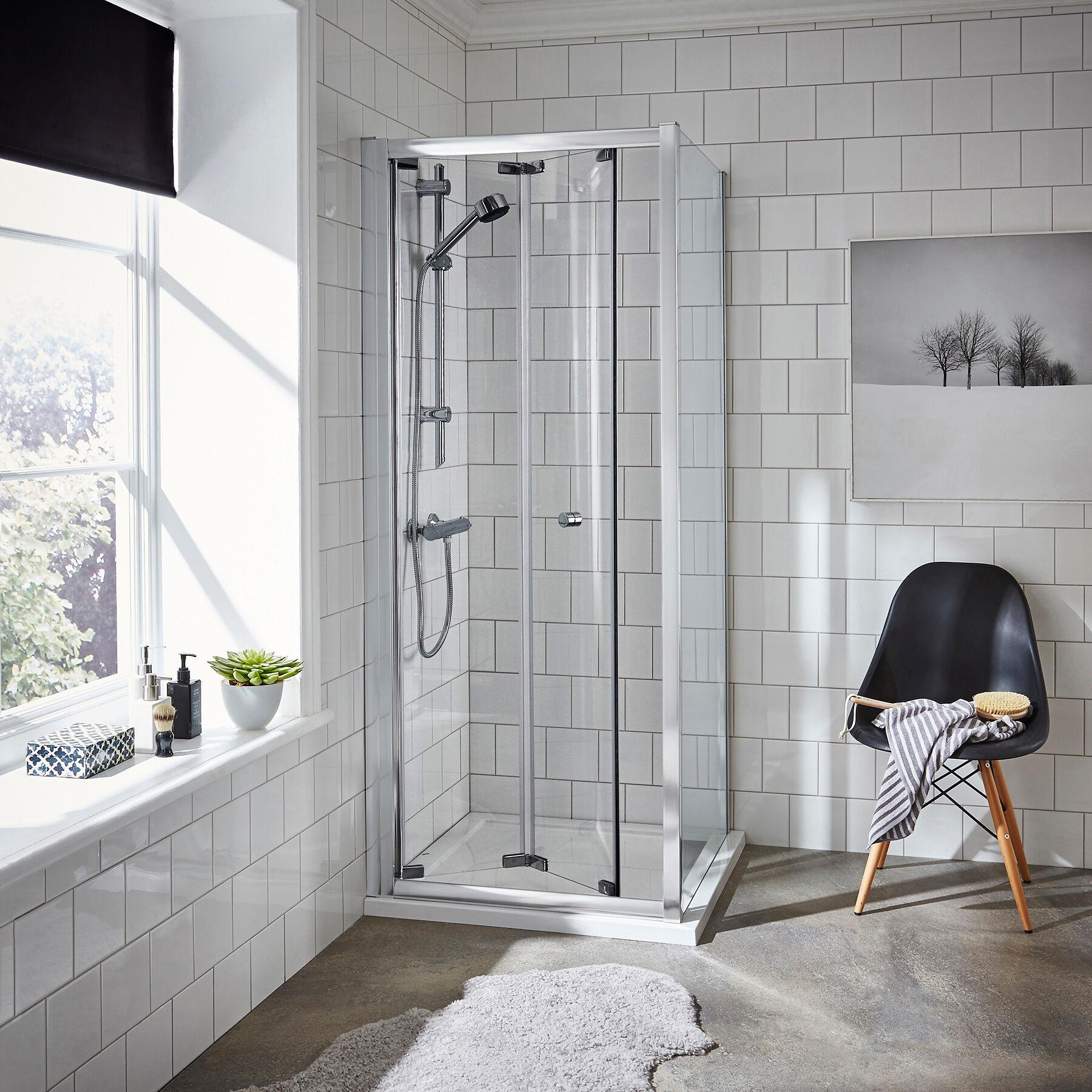 Royal Bathrooms Ella 5mm Bi-Fold Enclosure 800 x 800mm