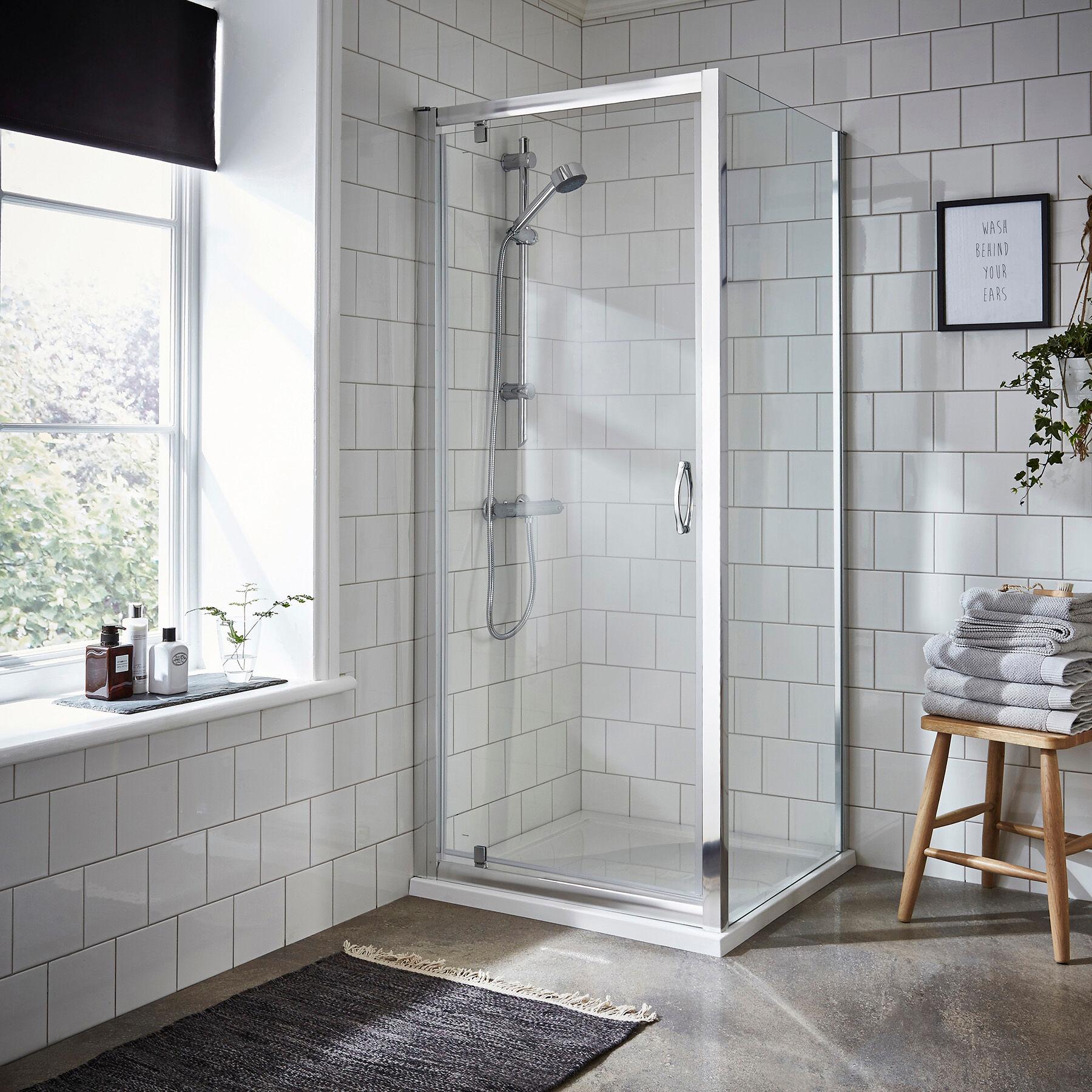 Royal Bathrooms Ella 5mm Pivot Enclosure with Pearlstone Tray - Various Sizes