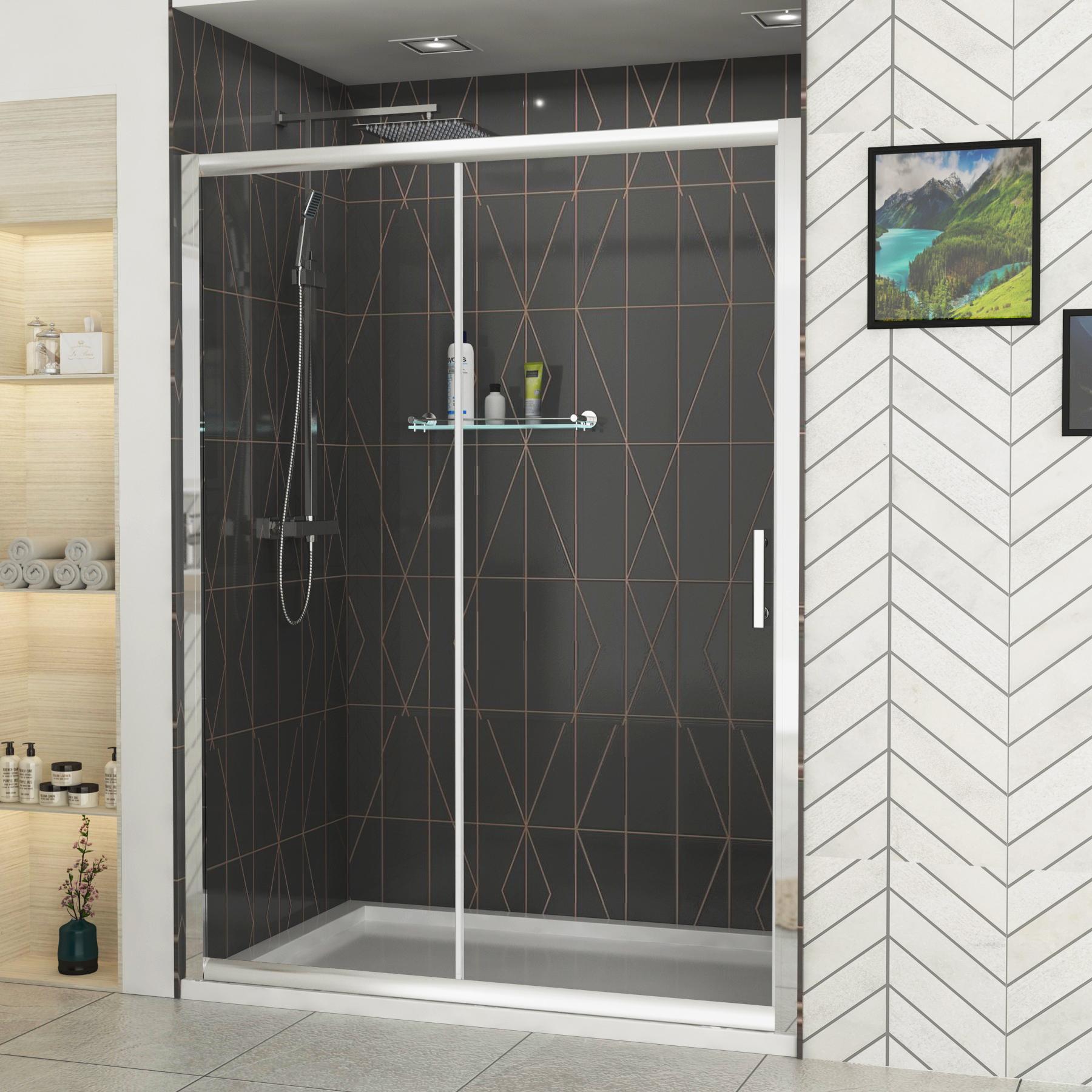 Royal Bathrooms Grand 6mm Sliding Shower Door 1700mm