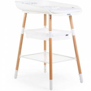 Childhome Changing Table Evolux White Natural - White - Childhome