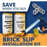 ARMSTRONG SUPPLIES Brick Slip Tiles Installation Kit - 6m2 Kit