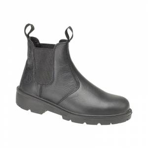 AMBLERS SAFETY Amblers Steel FS116 Pull-On Dealer Boot / Unisex Boots (7 UK) (Black)