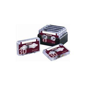 Philips Dictation 30min Cassette Pk10 - PH005 - Philips