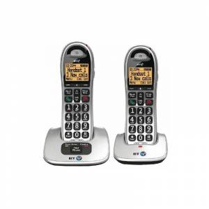 BT SELECTION BT BT4000 Twin Big Bttn DECT C/lss Phone - BT61584
