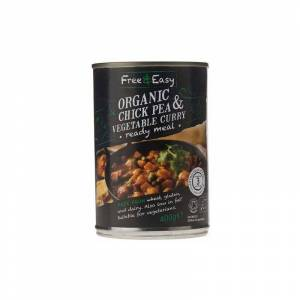 FREE & EASY Chickpea & Vegetable Curry - 400g - 55173 - Free&easy