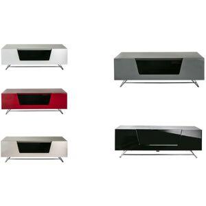 Alphason - Chromium 1200 High Gloss TV Cabinet Unit IR Friendly Glass White