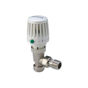 Honeywell VT117E 15mm TRV Thermostatic Radiator Valve Angled Central Heating - Honeywell