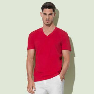Stedman T-Shirt James  V Neck Indian Yellow - Stedman ST9210 - Size XL
