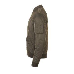Sol's 01616 - Unisex Fashion Bomber Jacket Rebel Umbra - XS - polyester/nylon