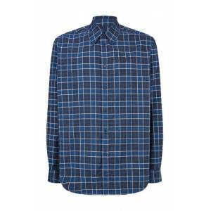 Martine Rose Classic Shirt Blk/wht/blu Check  - red - Size: Large - Gender: male