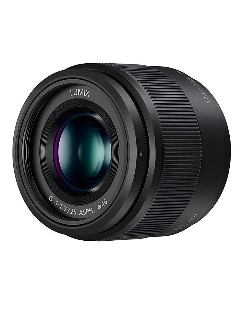 Panasonic Micro Standard 25mm Prime Lens