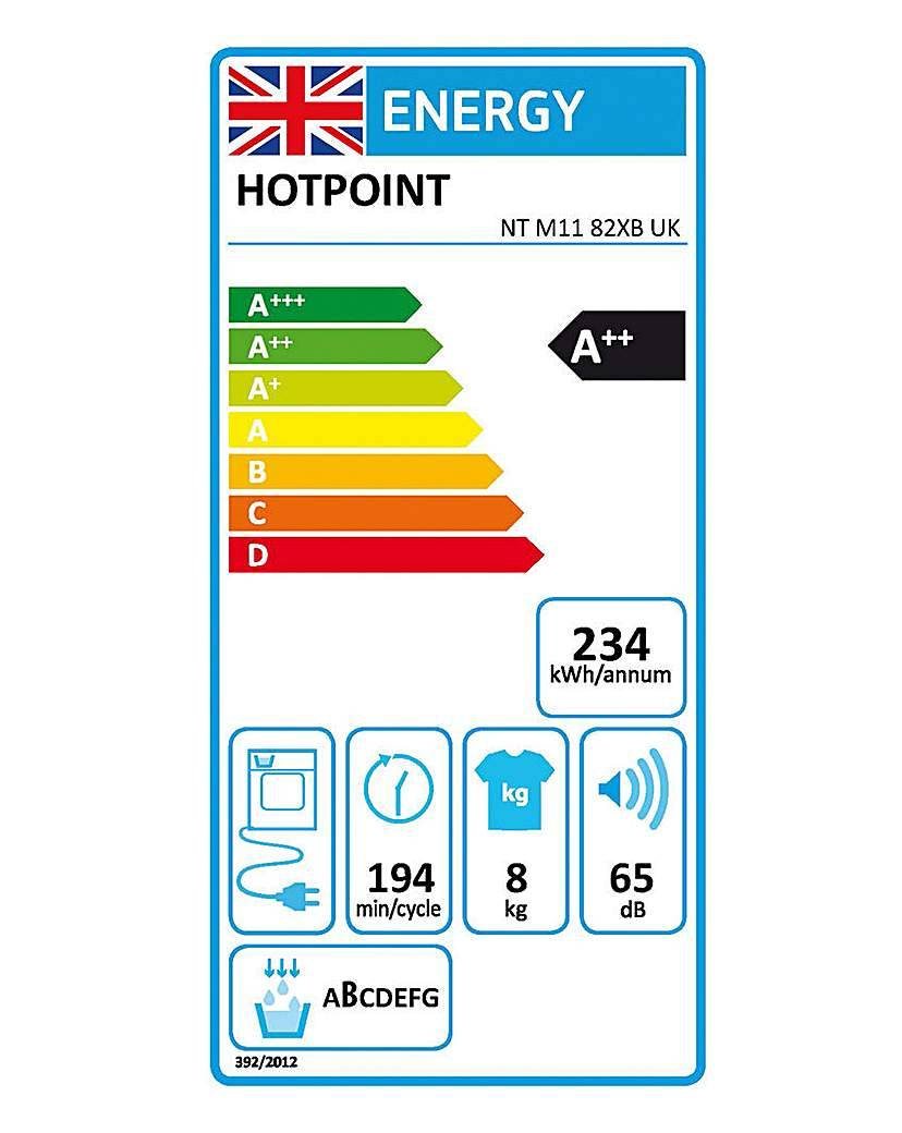 Hotpoint Anti All Tumble Dryer + INST