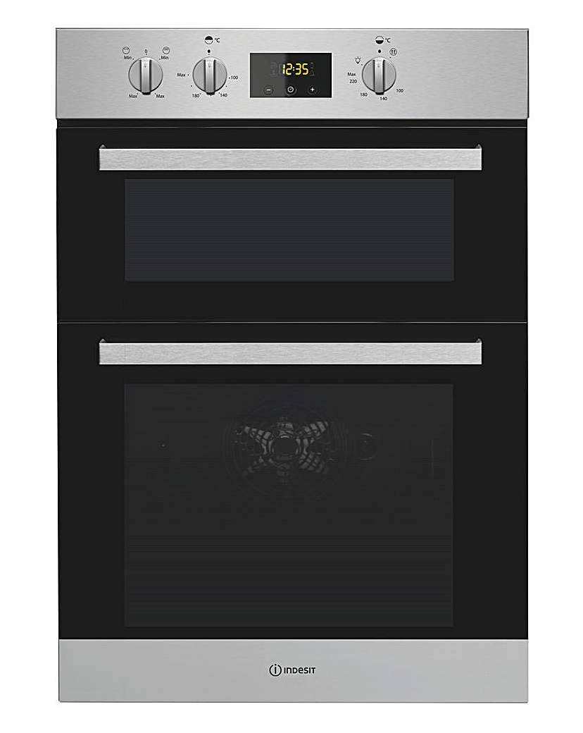 Indesit IDD6340IX Double Oven + Install