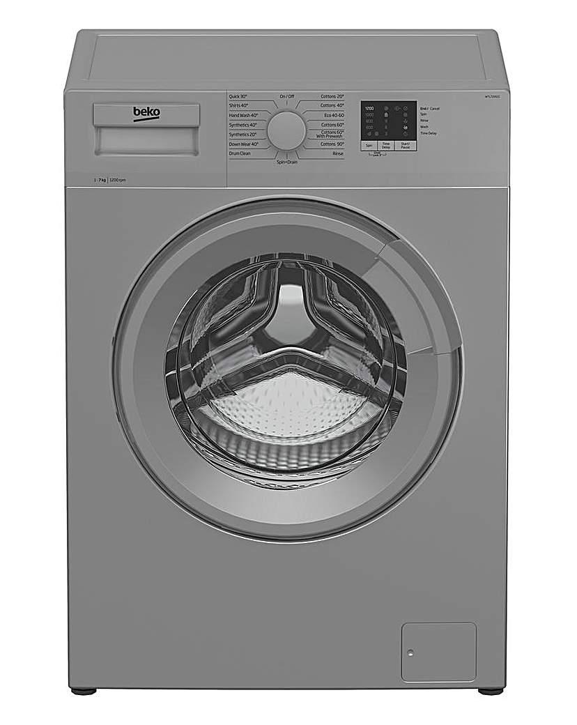 Beko Washing Machine SILVER WTL72051S