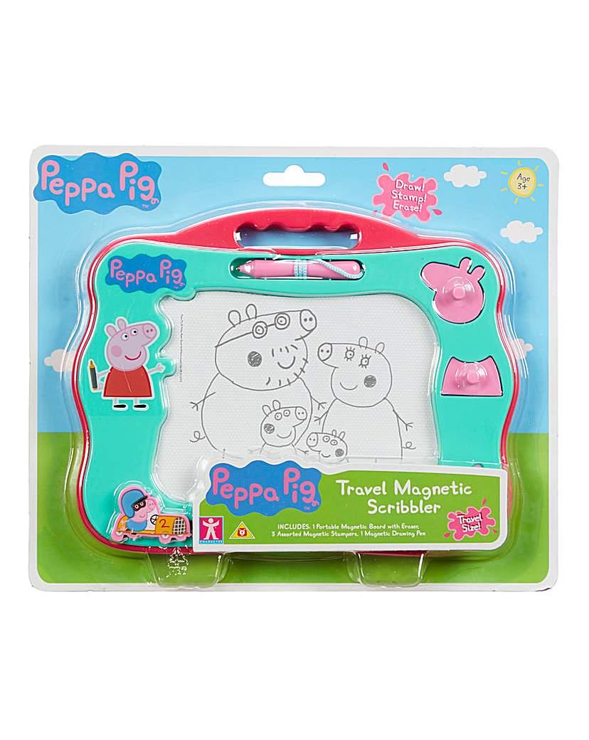 Peppa Pig Travel Magnetic Scribbler