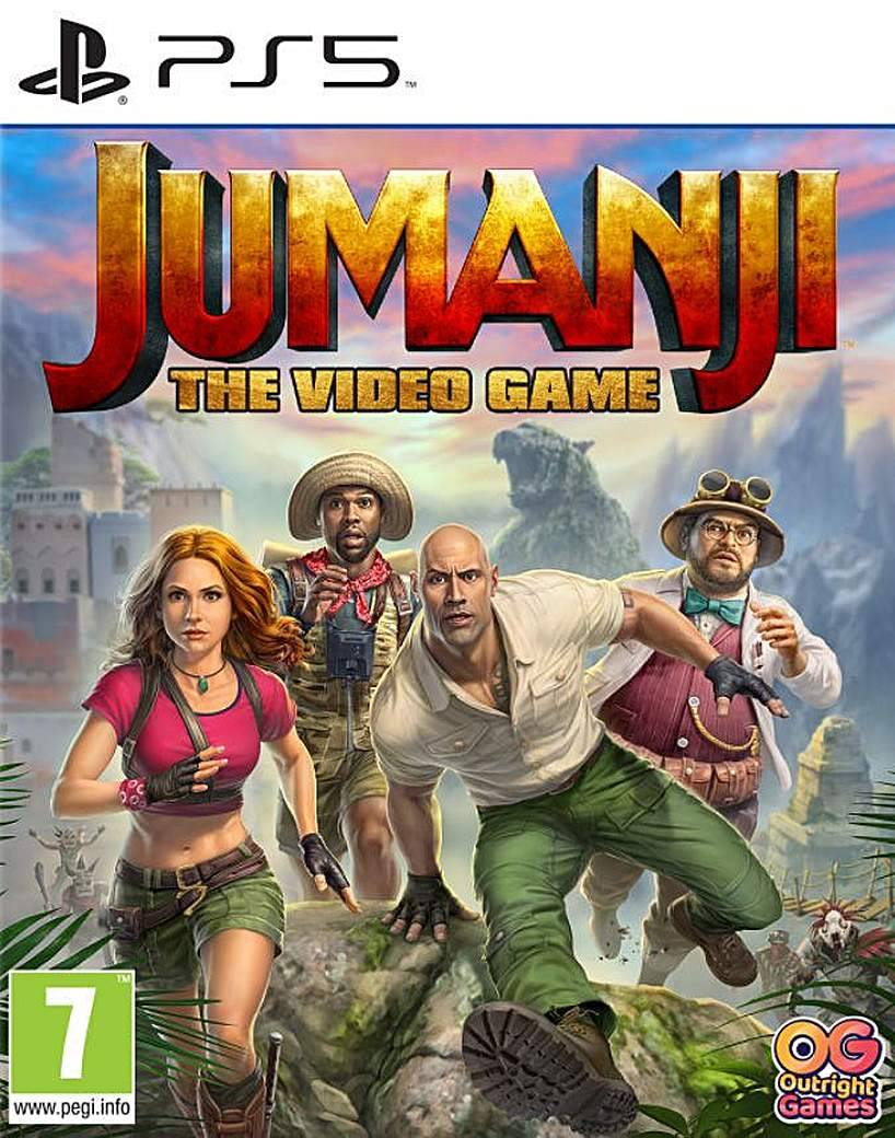 PS5 Sony Jumanji The Video Game PS5