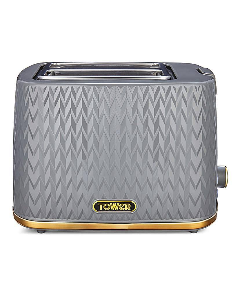 Tower Empire Toaster 2 Slice Toaster