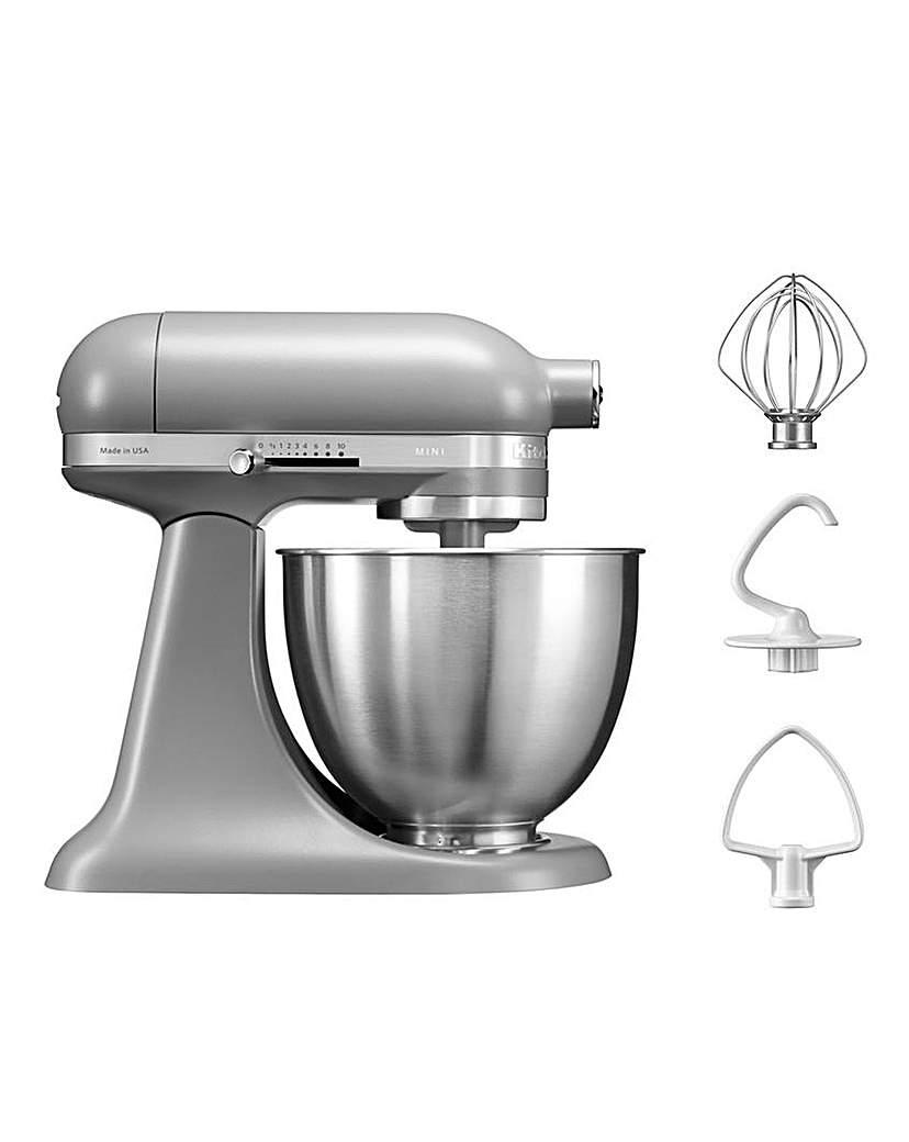 KitchenAid 3.3Litre Mini Stand Mixer  - Grey