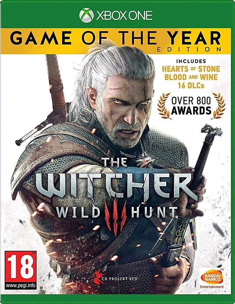 Xbox One The Witcher 3 Game of the Year Xbox One