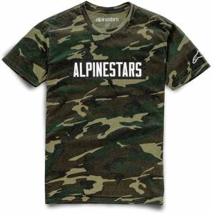 Alpinestars Adventure T-Shirt unisex Black Yellow Size: L